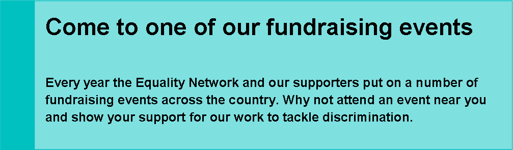 Attend one of our fundraising events