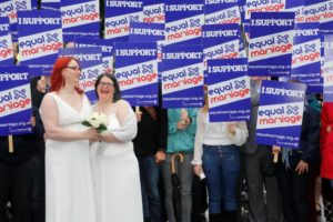Equal Marriage 'Wedding Rally' (June 2012)