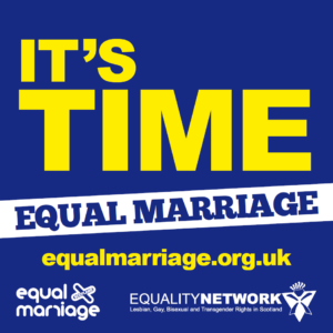 Its time for equal marriage