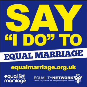Say I do to equal marriage
