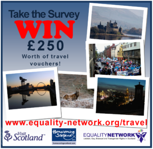 Take the LGBT travel survey.