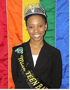Miss Teen Bahamas 2005, Gari McDonald, was stripped of her title after coming out as a lesbian