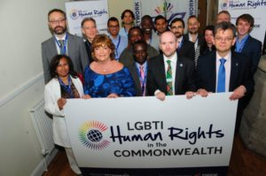 Fiona Hyslop with speakers