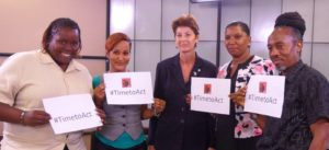 United and Strong members say its #timetoact on sexual violence