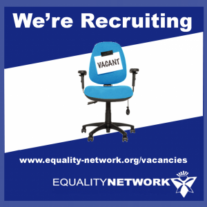 Current vacancies at the Equality Network