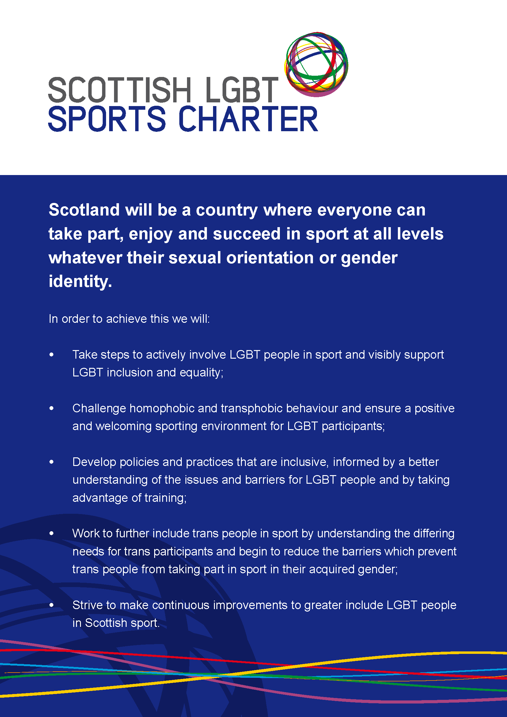 The Scottish LGBT Sports Charter