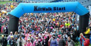 Edinburgh Kiltwalk 2017